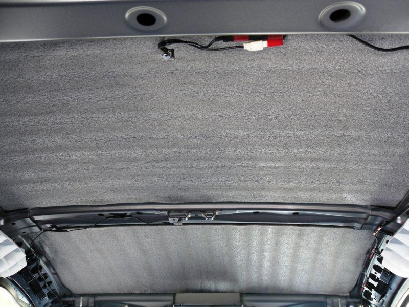Шумоизоляция потолка в авто