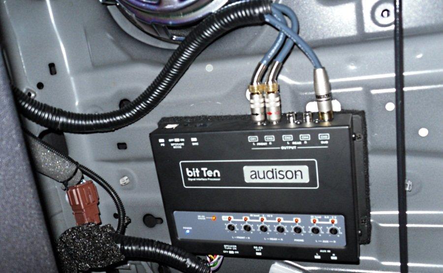 подключение процессора audison к штатной магнитоле